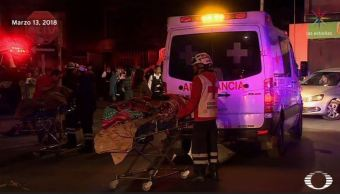 Mueren dos ancianos en incendio de asilo en Monterrey, Nuevo León
