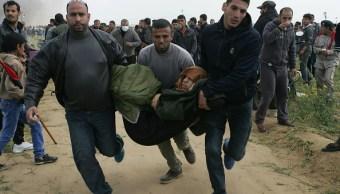 Incidentes en Gaza dejan 500 heridos