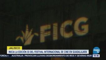 Inicia la edición 33 del Festival Internacional de Cine en Guadalajara