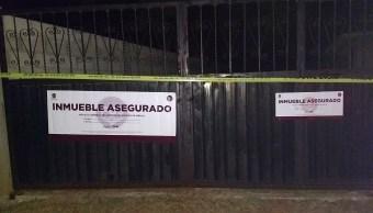 Aseguran laboratorio clandestino en Jilotepec, Edomex