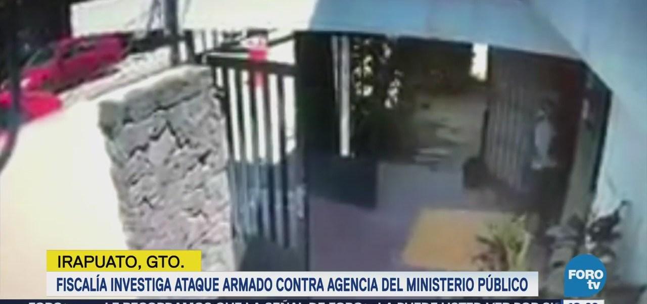 Investigan Ataque Contra Agencia Mp Irapuato