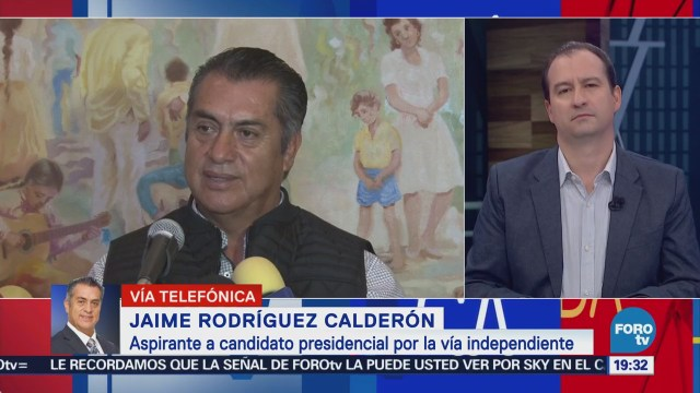 Jaime Rodríguez Calderón reclama que no tuvo derecho de audiencia