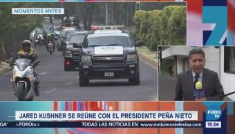 Jared Kushner se reúne con el presidente Peña Nieto