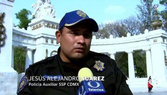 policias narran se salvaron arrollados alameda