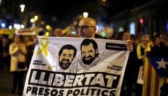 Niegan a Jordi Sánchez salir de prisión para ser investido presidente Cataluña