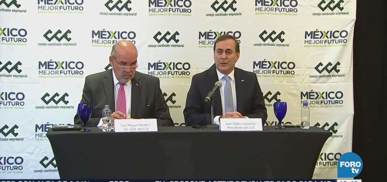 Juan Pablo Castañón Pide Propuestas Claras Candidatos