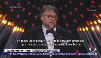 'La Forma del Agua' gana 4 premios Oscar, incluida mejor película y director