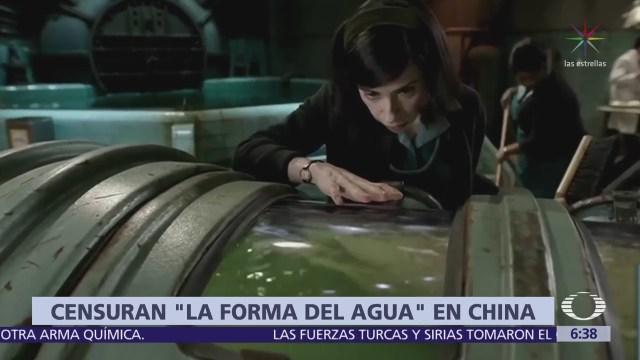 'La forma del agua' se estrena en China, pero con censura