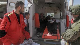 Bombardeo en escuela de Guta Oriental
