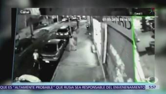 Ladrones asaltan a mujer en la colonia Popotla, CDMX