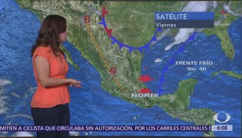 Frente Frío 40 Provocará Lluvias Norte De México