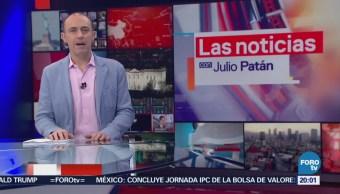 Noticias con Julio Patán: Programa del 8 de marzo de 2018