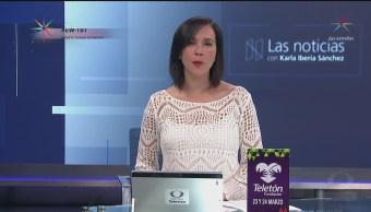 Las Noticias, con Karla Iberia: Programa del 16 de marzo de 2018