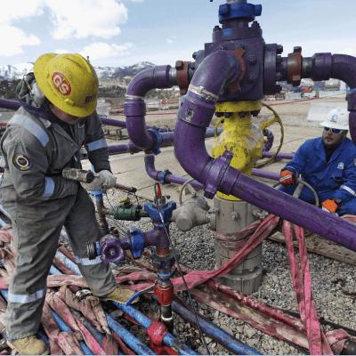 Licitarán 9 áreas para la exploración y extracción de gas por fracking