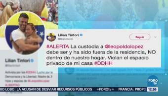 Lilian Tintori denuncia que policías venezolanos entraron a su residencia