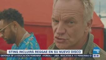 #LoEspectaculardeME: Sting incluirá reggae en su nuevo disco