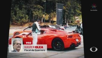 'Lord Ferrari' e Iván Borbolla rinden declaración en Fiscalía de Guerrero