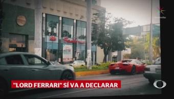 'Lord Ferrari' se presentará el lunes en la Fiscalía de Guerrero