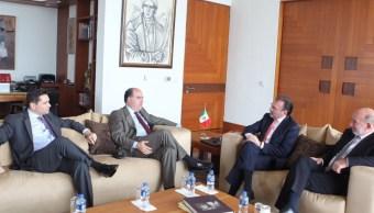 videgaray se reune representantes oposicion venezolana
