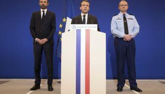 Macron convoca una reunión en el Elíseo tras ataques terroristas en Francia