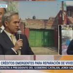 Mancera entrega 211 créditos para reparación de viviendas afectadas por sismos