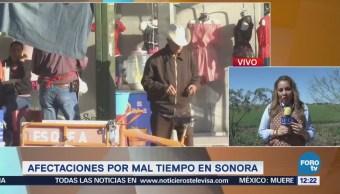 Mantienen alerta en Sonora por paso del frente frío 34