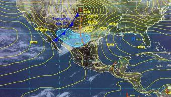 Mapa con el pronóstico del clima para este 16 de marzo; nuevo sistema frontal provocará fuertes
