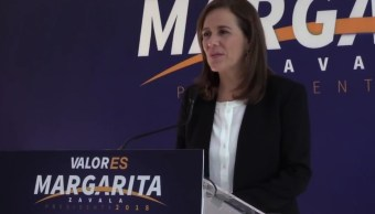 Margarita Zavala asegura que su postulación es legal