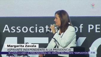 Margarita Zavala afirma que será implacable contra la corrupción si llega a la Presidencia