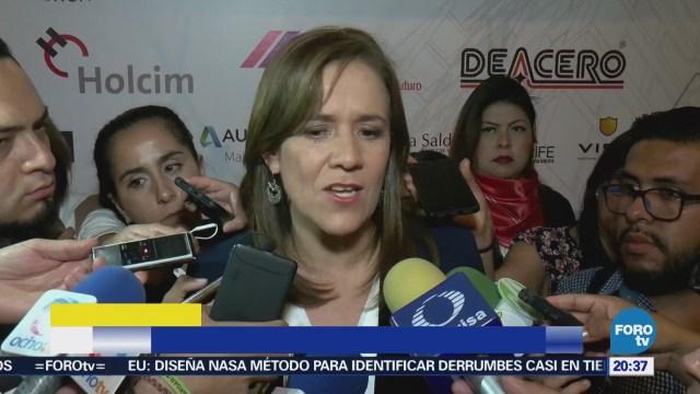 Margarita Zavala se reúne con representantes de la CMIC