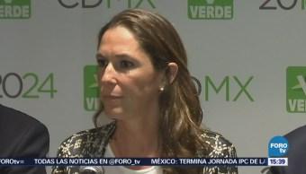Mariana Boy, candidata del PVEM al Gobierno de la CDMX