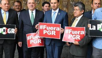 Exigimos que PGR saque las manos del proceso electoral