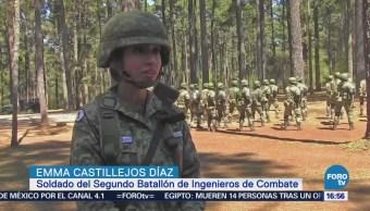 Más de 100 mujeres concluyen adiestramiento militar en Chiapas