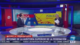 Mauricio Merino el informe de la Auditoría Superior de la Federación