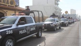 Fuerzas federales mantienen operativo de seguridad en playas de Sinaloa