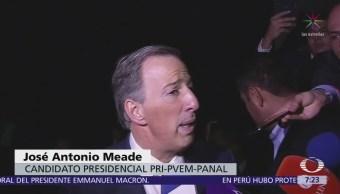 Meade: AMLO no llegará lejos con amparos por NAICM, tampoco en elección