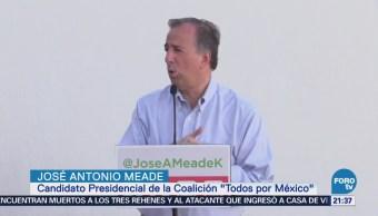 José Antonio Meade celebra autorización para debatir
