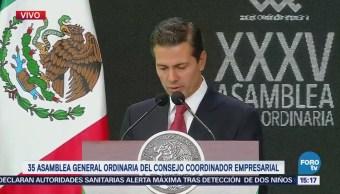 México Abrió Mundo Globalizado Epn