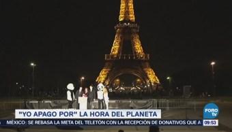 México se suma a la Hora del Planeta