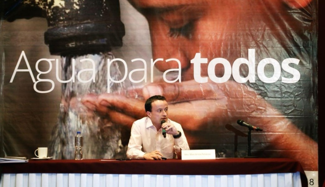 mikel arriola pide mancera no politizar tema agua