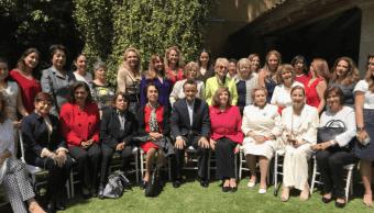 Mikel Arriola, en reunión con mujeres líderes de Coyoacán