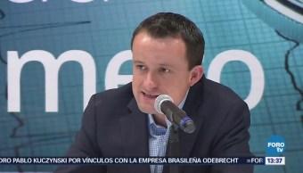 Mikel Arriola promete no suspender programas sociales si gana Gobierno CDMX