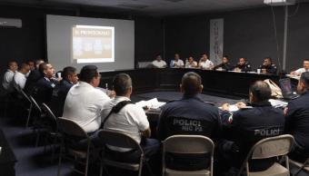 Jóvenes aspiran a ingresar a Academia de Policía de Cd. Juárez