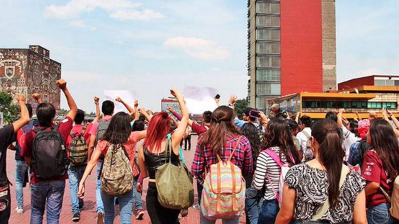 Estudiantes exigen que cese la violencia en la UNAM