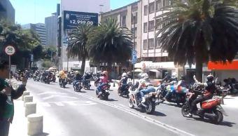 Motociclistas realizan rodada por Día Internacional de Síndrome De Down