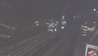 meuren dos hombres en metro y metrobus cdmx