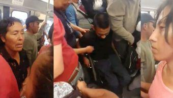 mujeres-insultan-hombre-silla-ruedas-tren-ligero-ciudad-mexico