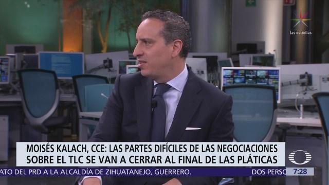 Negociación del TLCAN ¿bajo amenaza?, análisis de Moisés Kalach en Despierta