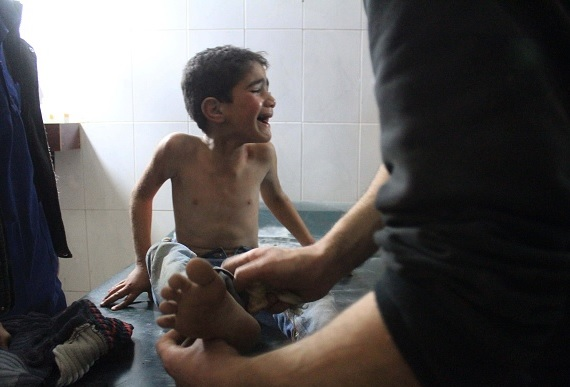 ONU: Bombardeos en Guta, Siria, impiden evacuaciones de civiles