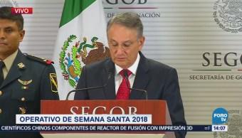Felipe Puente Detalla Operativo Semana Santa 2018